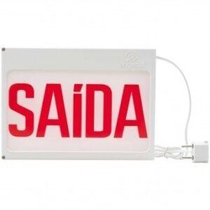 Placa De Saída Ip 20 New Slim Autônoma em Salvador - Bahia.