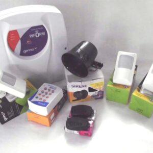 Kit Alarme -3 sensores com fio