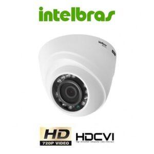 Câmera Intelbras Dome Hdcvi 20m Ir 1120d 2.8mm 720p