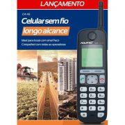 Telefone Celular Rural Sem Fio Aquário CA 45 – Quadriband