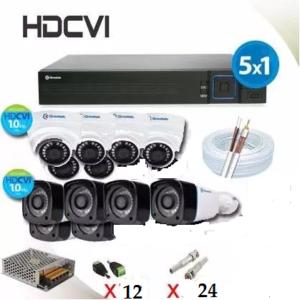 Kit Hdcvi em Salvador. Kit Hdcvi Completo 12 Cameras + Hvr - Greatek